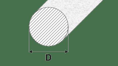 barre tonde alluminio