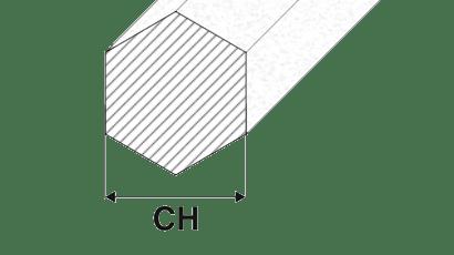 barre alluminio esagonali trafilate