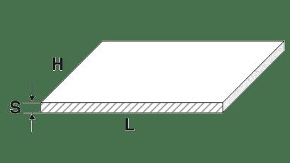 lamiere alluminio piane