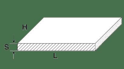 piastre in alluminio